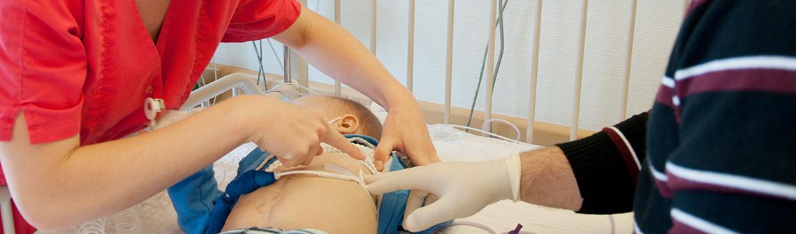 Kinder mit Organversagen