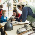 Kleine Patienten reisen zurück ins Mittelalter