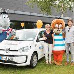 Kinderklinik bekommt Auto für Patientenbesuche