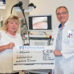 Eigener Endoskopieturm erleichtert Eingriffe
