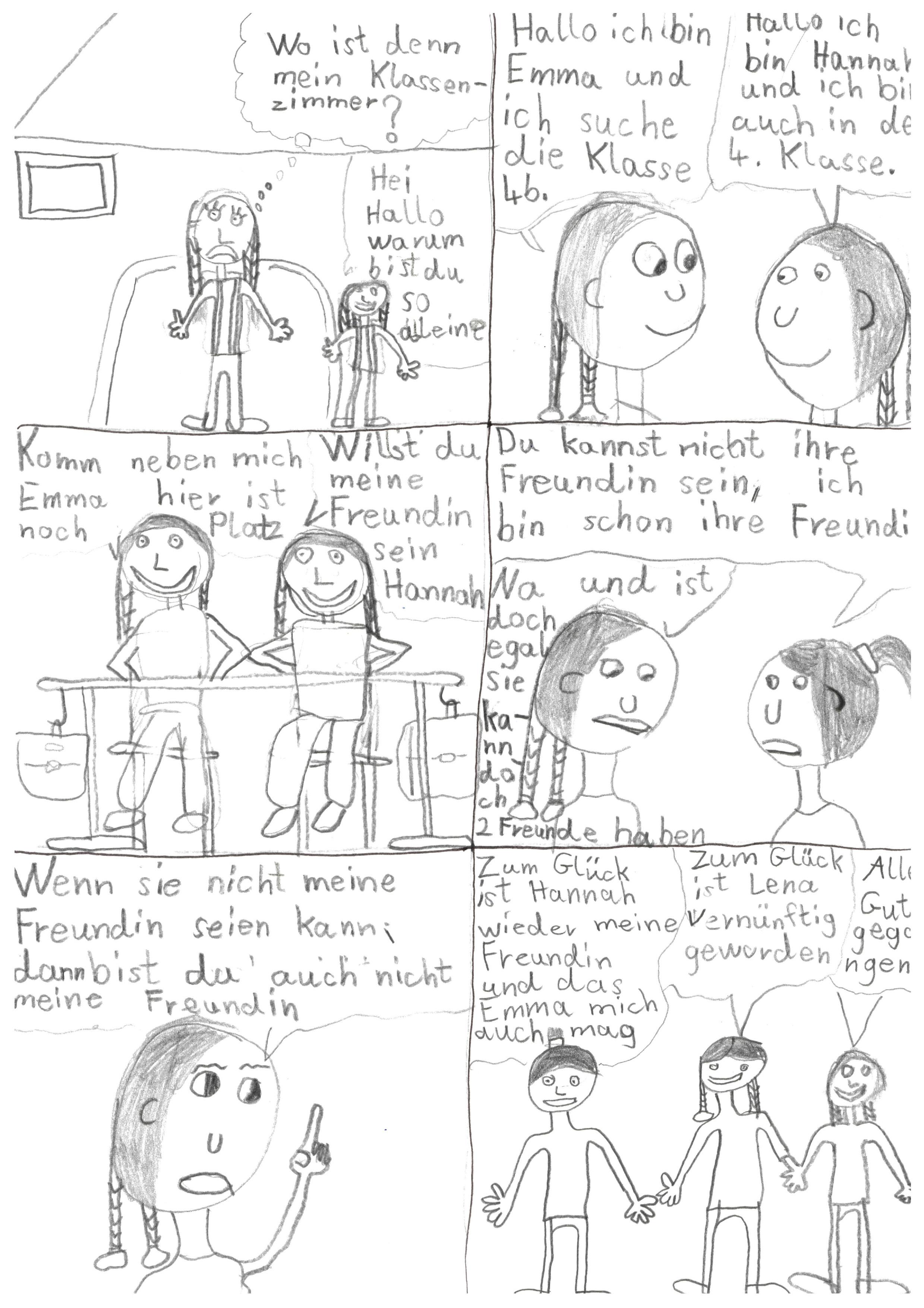 Der erste Schultag - Von Emma