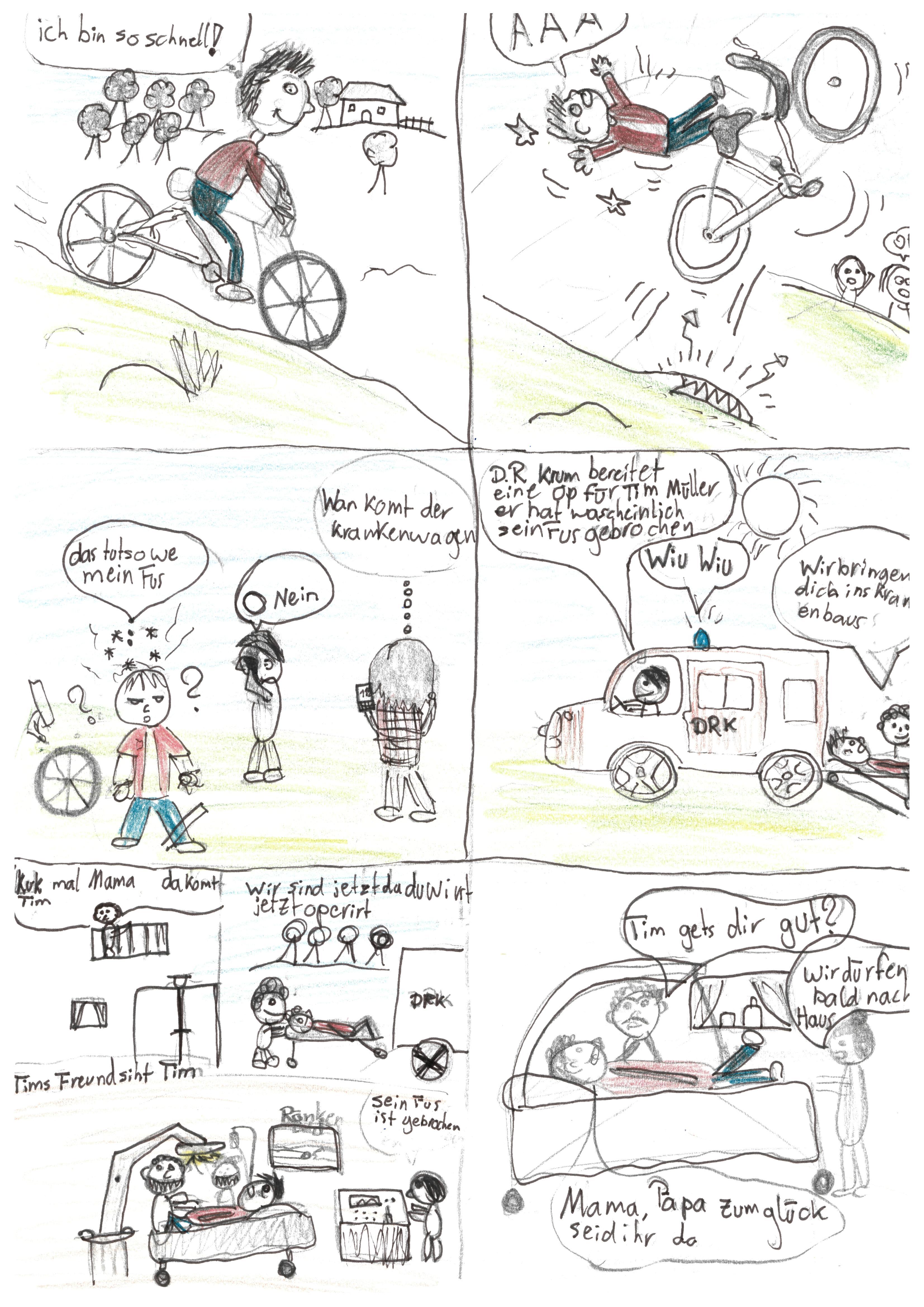 Der Fahrradunfall - von Ben