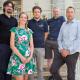 Das netcare-Team spendet für kranke Kinder