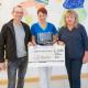 Spendenübergabe Neuropädiatrie Dachtel