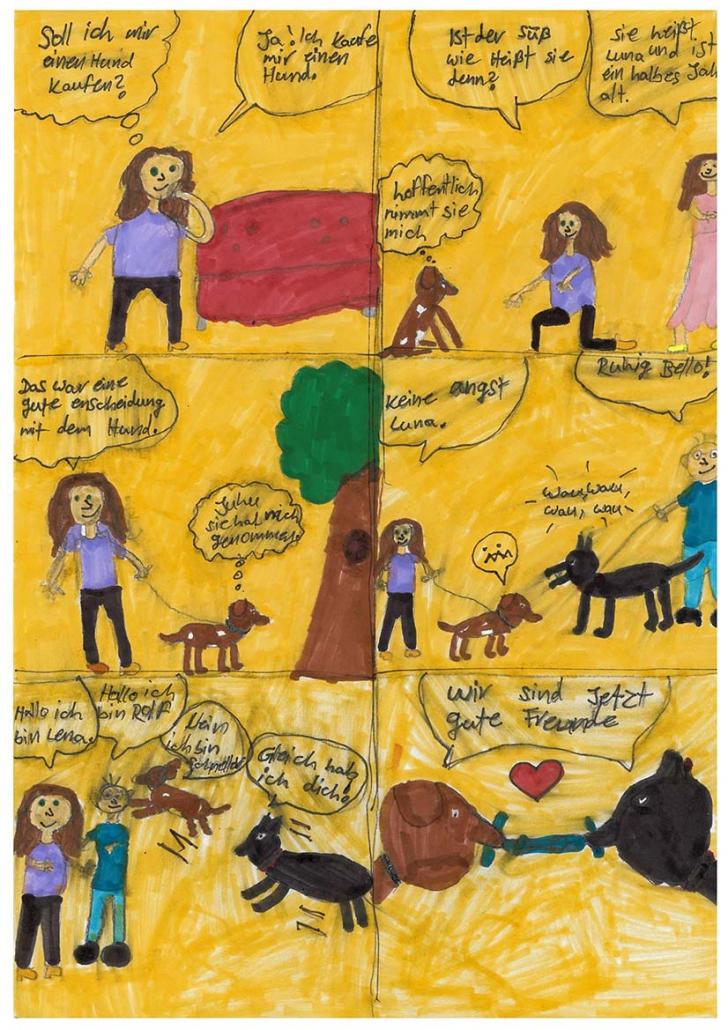 Lena und der Hund - von Elif