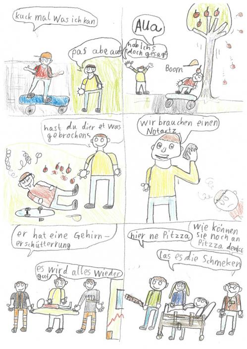 Die Gehirnerschütterung - von Moritz
