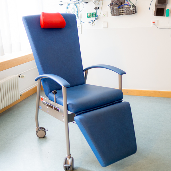 Multifunktionsstühle für die Tagesstation der Kinderklinik Tübingen