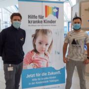 Spendenübergabe Kinderklinik Tübingen