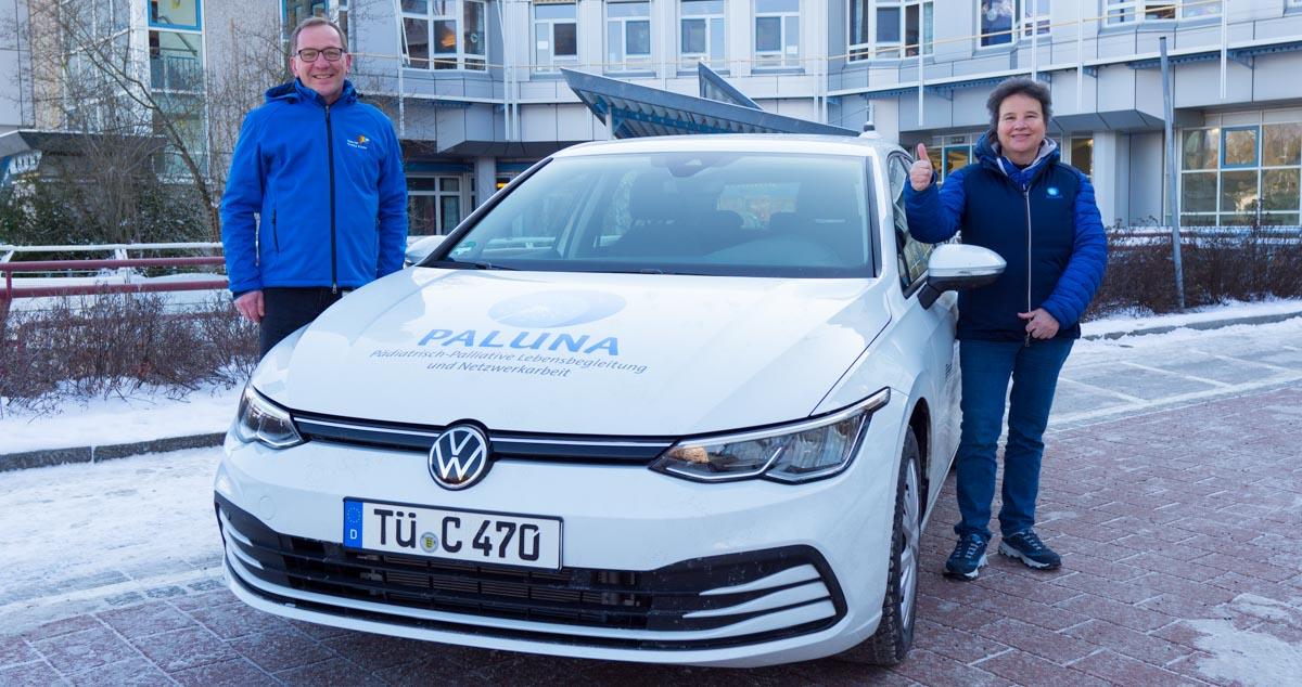 Neues Auto für das Tübinger Kinderpalliativteam