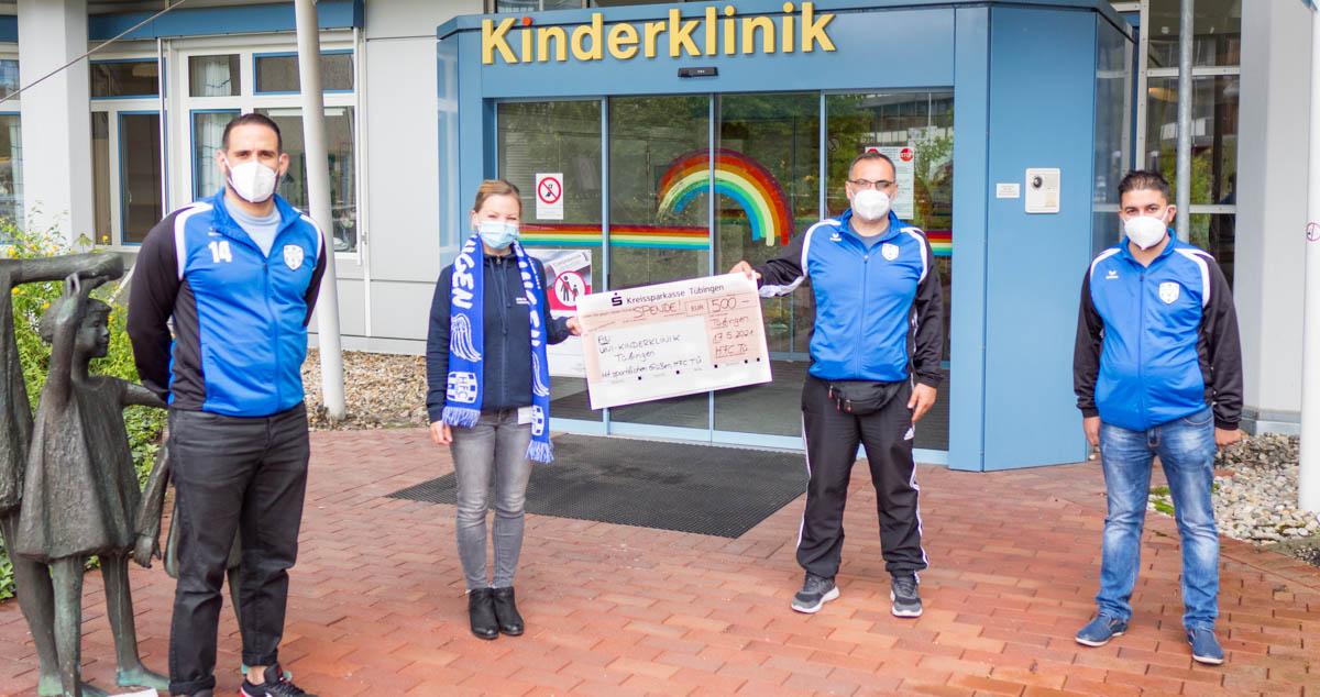 HFC TÜ Spendet für kranke Kinder
