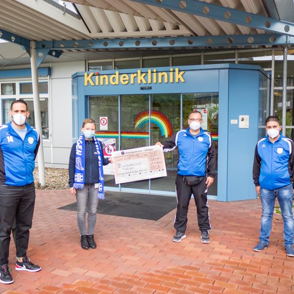Spendenübergabe HFC Tübingen