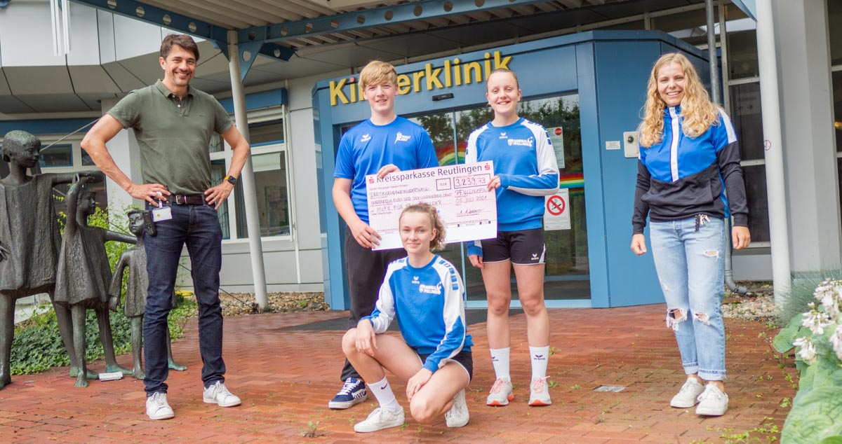 VfL Pfullingen läuft für Hilfe für kranke Kinder